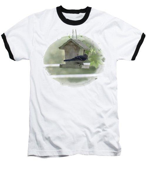 Bluejay Baseball T-Shirt by Judy Hall-Folde
