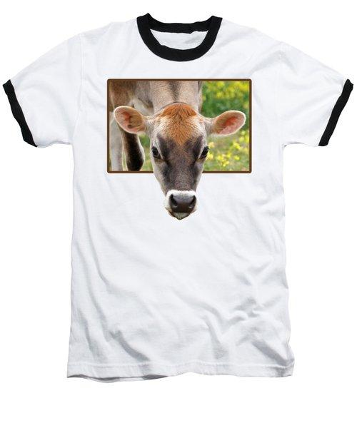 Jersey Fields Of Gold Baseball T-Shirt by Gill Billington