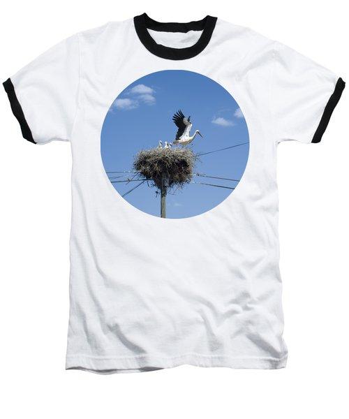 Storks Nest Alentejo Baseball T-Shirt by Mikehoward Photography