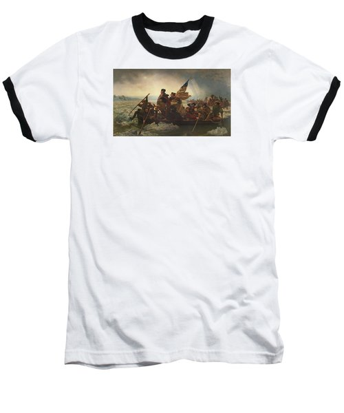 Washington Crossing The Delaware Baseball T-Shirt by War Is Hell Store