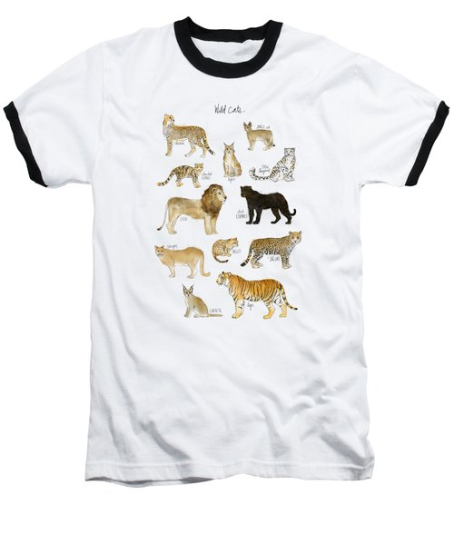 Wild Cats Baseball T-Shirt by Amy Hamilton