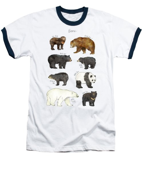 Bears Baseball T-Shirt by Amy Hamilton