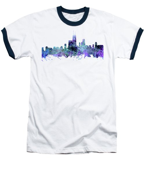 Chicago Baseball T-Shirt by JW Digital Art