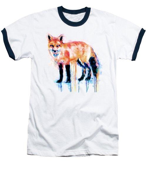 Fox  Baseball T-Shirt by Marian Voicu