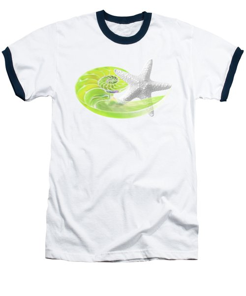 Ocean Fresh Baseball T-Shirt by Gill Billington