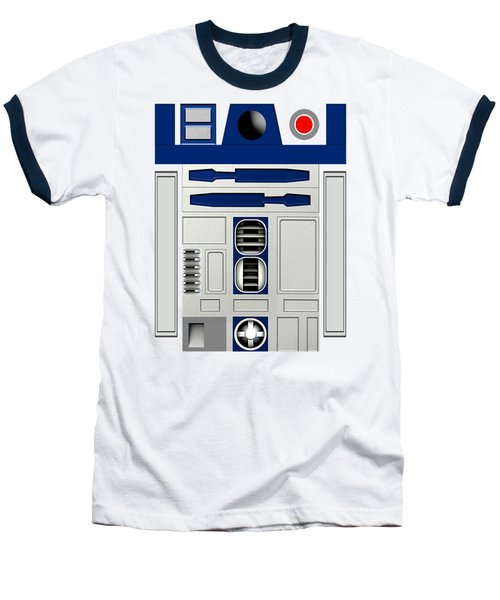 R2d2 Baseball T-Shirt by Janis Marika