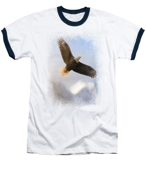 Rise Above Baseball T-Shirt by Jai Johnson
