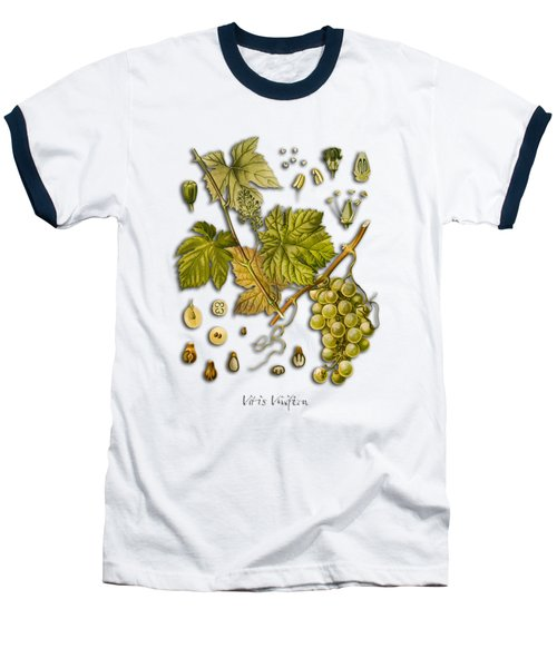 Vitis Vinifera Baseball T-Shirt by Justyna JBJart
