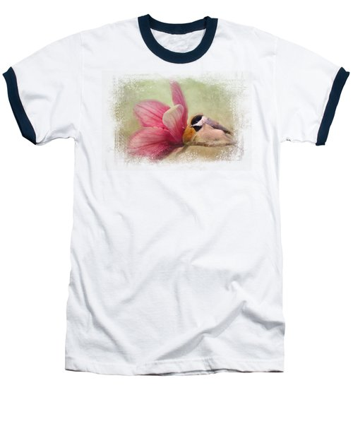 Welcome Spring Baseball T-Shirt by Jai Johnson