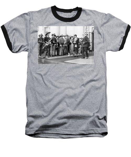 Cowboy Band, 1929 Baseball T-Shirt by Granger