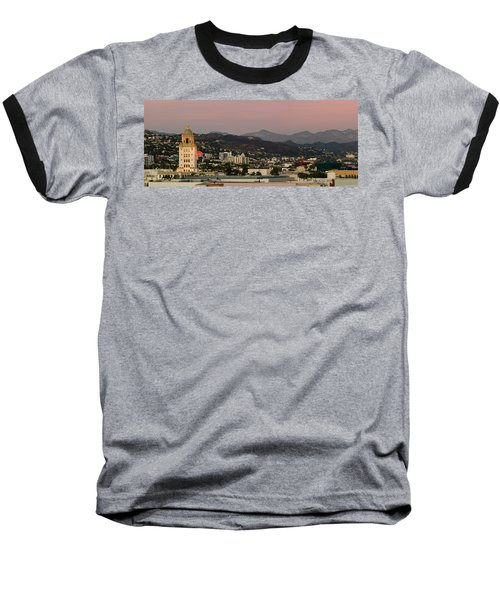 High Angle View Of A City, Beverly Baseball T-Shirt by Panoramic Images