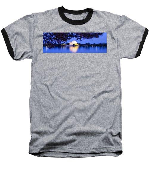 Jefferson Memorial, Washington Dc Baseball T-Shirt by Panoramic Images