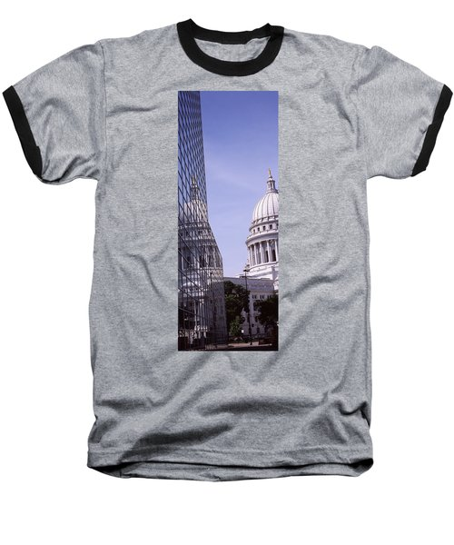 Low Angle View Of A Government Baseball T-Shirt by Panoramic Images