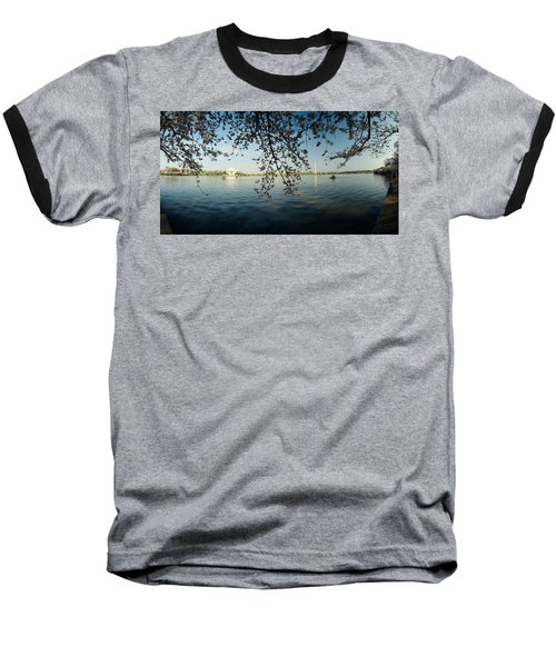 Monument At The Waterfront, Jefferson Baseball T-Shirt by Panoramic Images