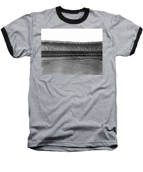 New Yankee Stadium Baseball T-Shirt by Underwood Archives