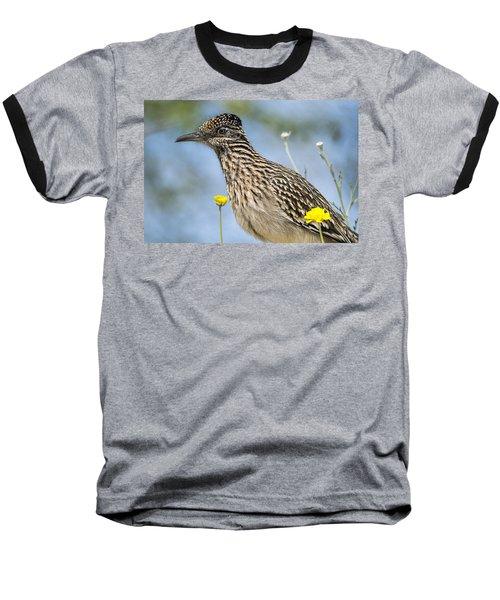 The Greater Roadrunner  Baseball T-Shirt by Saija  Lehtonen