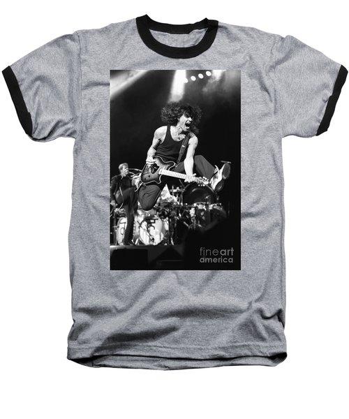 Van Halen - Eddie Van Halen Baseball T-Shirt by Concert Photos