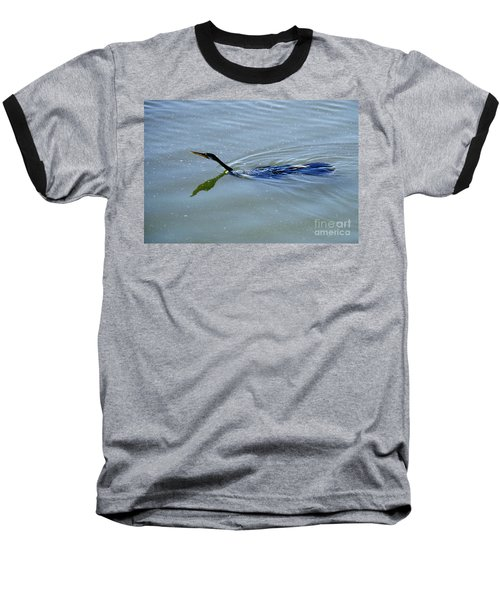 Anhinga Baseball T-Shirt by Art Wolfe