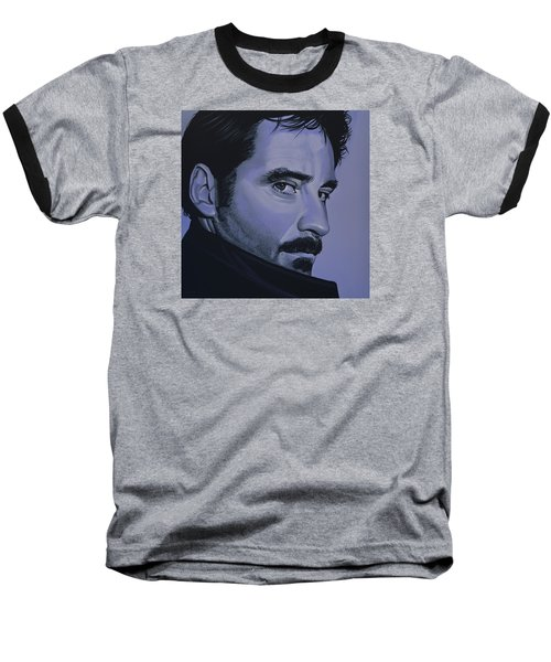 Kevin Kline Baseball T-Shirt by Paul Meijering