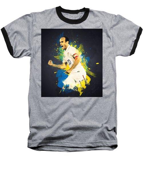 Landon Donovan Baseball T-Shirt by Taylan Soyturk