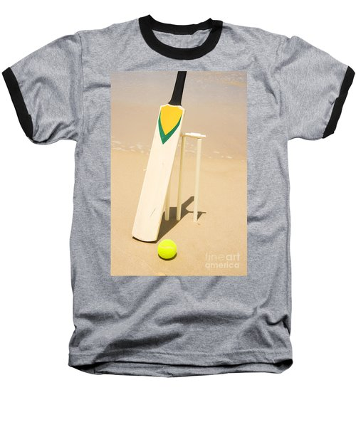 Summer Sport Baseball T-Shirt by Jorgo Photography - Wall Art Gallery