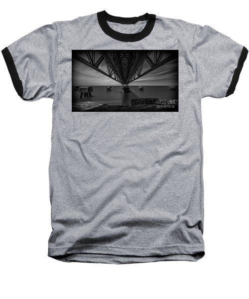 Under The Pier Baseball T-Shirt by James Dean