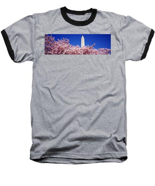 Washington Monument Washington Dc Baseball T-Shirt by Panoramic Images