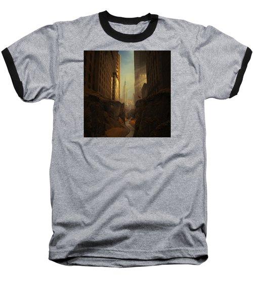2146 Baseball T-Shirt by Michal Karcz