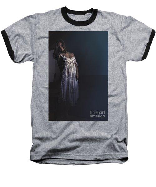 Clara Baseball T-Shirt by Traven Milovich
