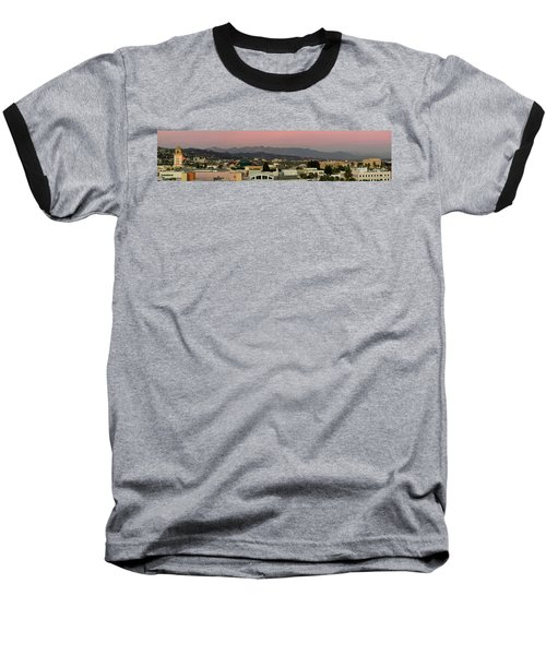 Elevated View Of Buildings In City Baseball T-Shirt by Panoramic Images