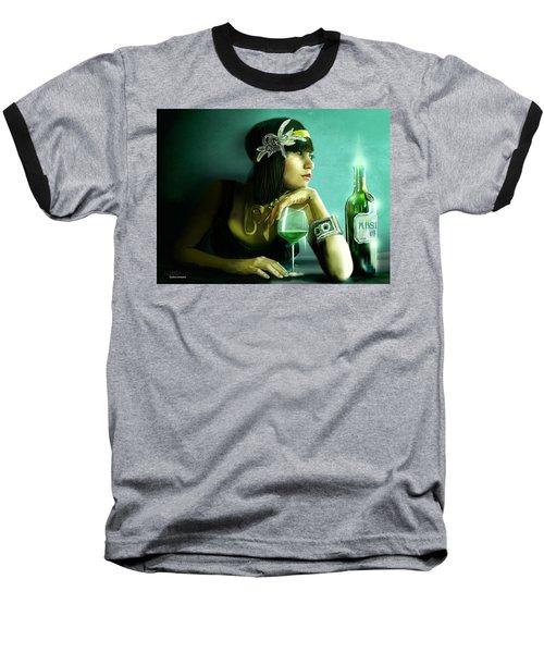 Absinthe Baseball T-Shirt by Jason Longstreet