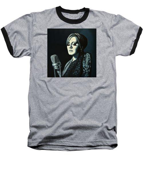 Adele Skyfall Painting Baseball T-Shirt by Paul Meijering