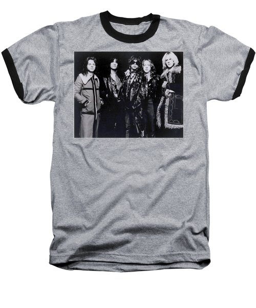 Aerosmith - America's Greatest Rock N Roll Band Baseball T-Shirt by Epic Rights