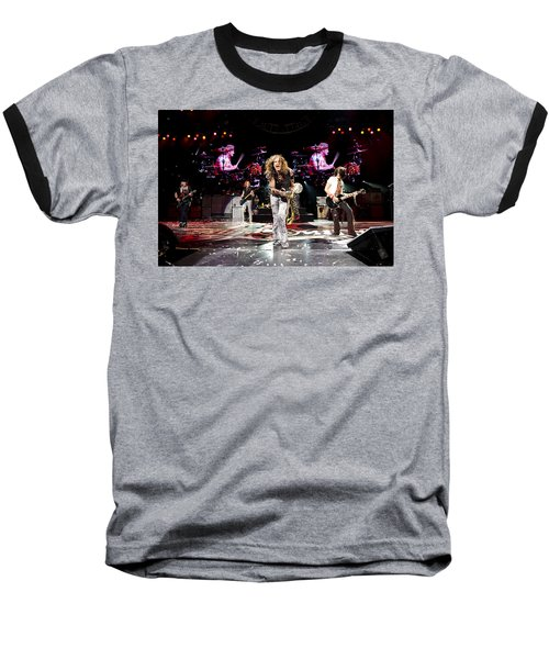 Aerosmith - Austin Texas 2012 Baseball T-Shirt by Epic Rights