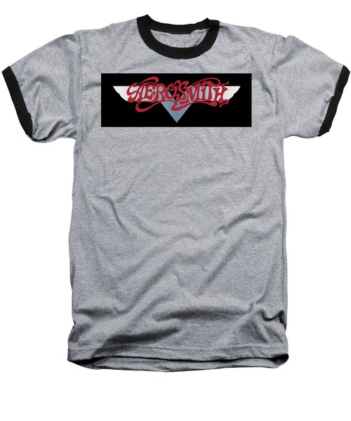 Aerosmith - Dream On Banner 1973 Baseball T-Shirt by Epic Rights