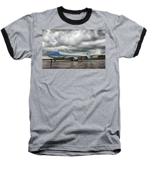Air Force One Baseball T-Shirt by Mountain Dreams
