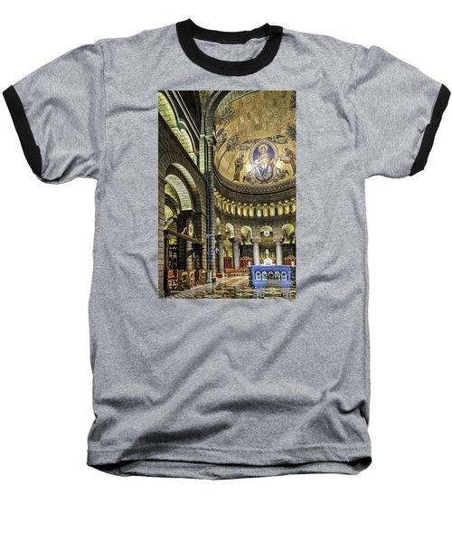 Altar Baseball T-Shirt by Maria Coulson