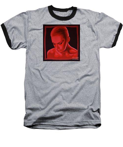 Annie Lennox Baseball T-Shirt by Paul Meijering