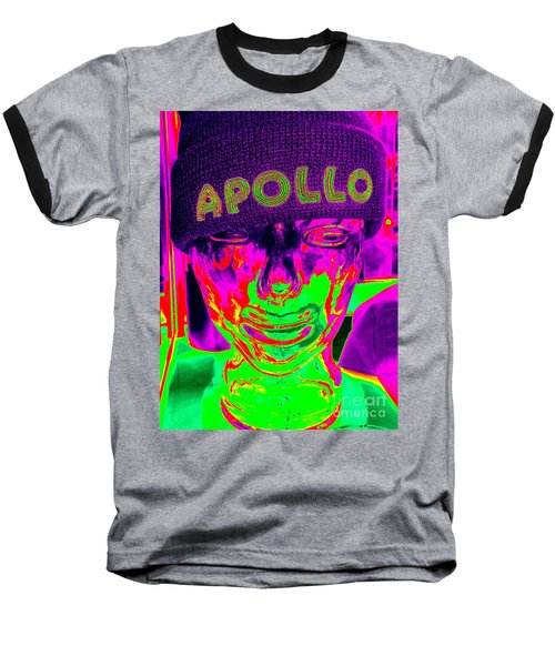 Apollo Abstract Baseball T-Shirt by Ed Weidman