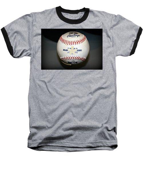 Asterisk Baseball T-Shirt by Stephen Stookey
