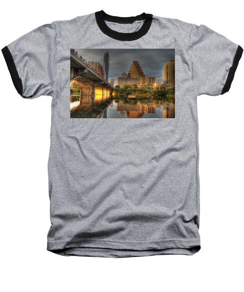Austin Skyline Baseball T-Shirt by Jane Linders