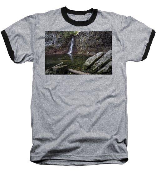 Autumn Swirls Baseball T-Shirt by James Dean