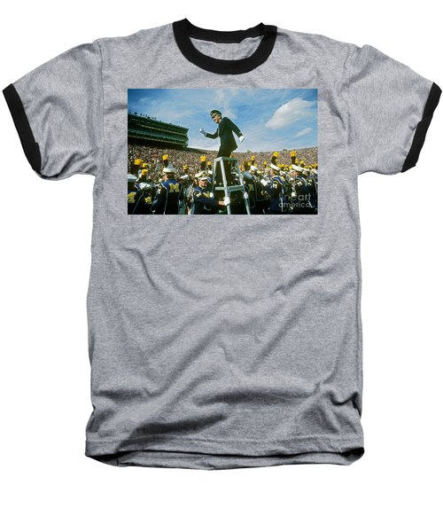 Band Director Baseball T-Shirt by James L. Amos