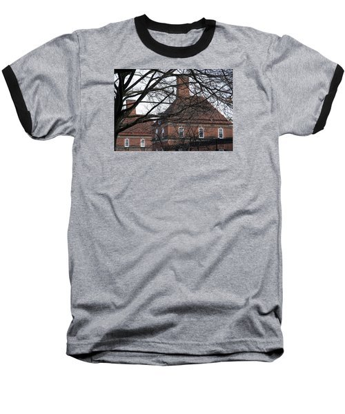 The British Ambassador's Residence Behind Trees Baseball T-Shirt by Cora Wandel