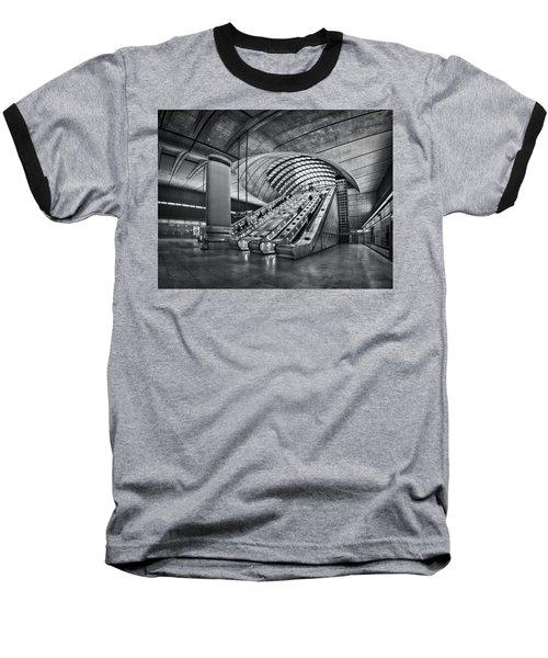 Beneath The Surface Of Reality Baseball T-Shirt by Evelina Kremsdorf