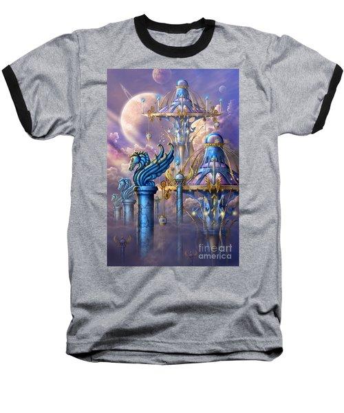 City Of Swords Baseball T-Shirt by Ciro Marchetti