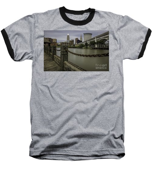 Cleveland Ohio Baseball T-Shirt by James Dean