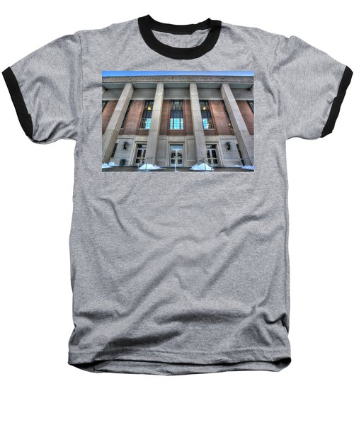 Coffman Memorial Union Baseball T-Shirt by Amanda Stadther
