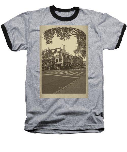 Corner Room Baseball T-Shirt by Tom Gari Gallery-Three-Photography
