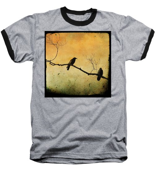 Crowded Branch Baseball T-Shirt by Gothicolors Donna
